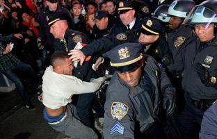 Segunda jornada de protestas en Nueva York por el caso de Ferguson