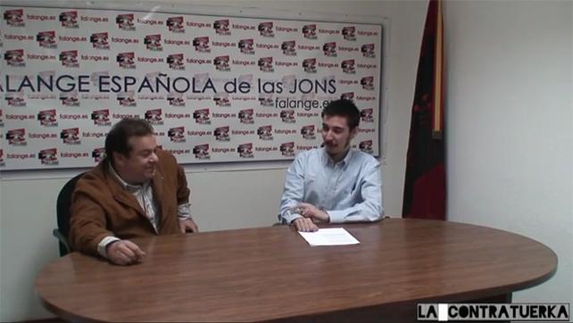 El programa falangista 'La Contratuerka' se emite en Youtube.