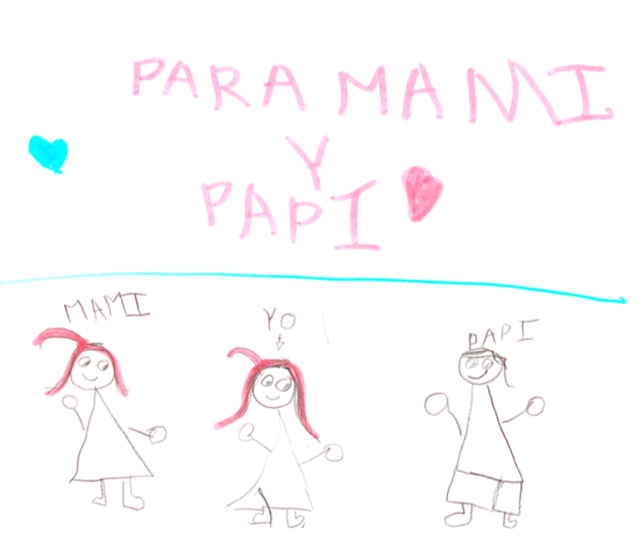 Dibujo hecho por un niño transexual.