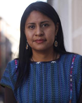 Lourdes Rosas, en su visita a Madrid. L.VILLA