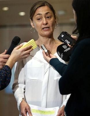 La secretaria de Empleo del PSOE, Luz Rodríguez, ha denunciado los 'recortes' que del Gobierno en la lucha y prevención de la violencia machista. EFE