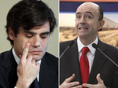 Los exconsejeros de Sanidad de Madrid Juan José Güemes y Manuel Lamela.