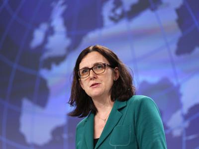 La comisaria de Interior, Cecilia Malmström.