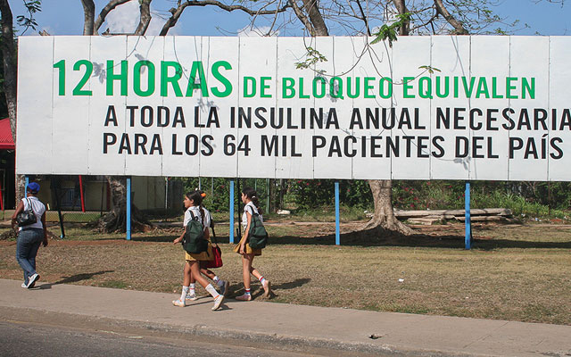 El 70% de los cubanos nacieron bajo el embargo económico y financiero de los EEUU.