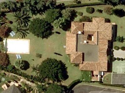 Planta de la nueva mansión de José María Aznar.- GOOGLE MAPS