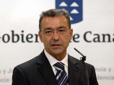 El Presidente del Gobierno de Canarias Paulino Rivero.