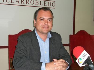 El concejal de Empleo de Villarrobledo, el conservador Andrés Martínez.