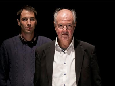 Jacobo Rivero (i) y Claudio Tamburrini (d). ELVIRA MEGÍAS