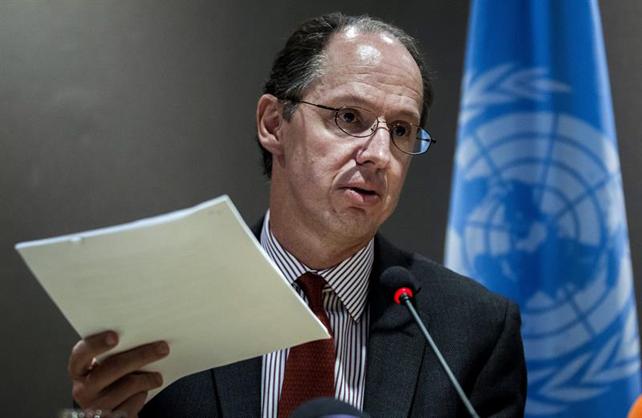 El relator especial de la ONU, Pablo de Greiff.