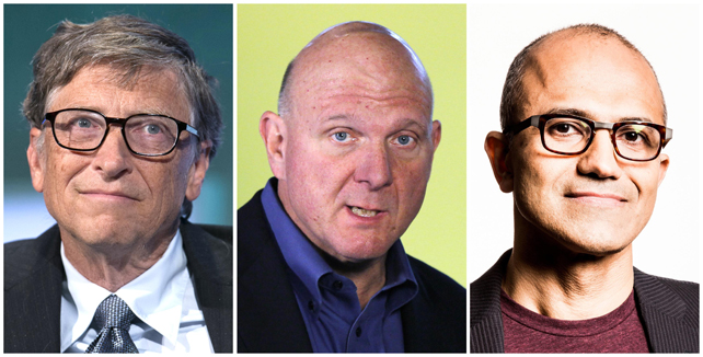 Microsoft nombra al tercer dirigente de su historia