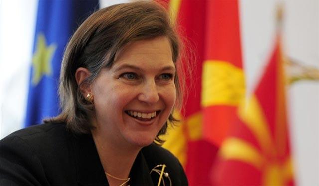 La responsable de asuntos europeos y euroasiáticos del Departamento de Estado, Victoria Nuland. REUTERS