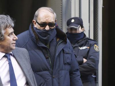El ex guardia civil Jesús Muñecas Aguilar, capitán Muñecas, tras su comparencencia en diciembre en la Audiencia Nacional.