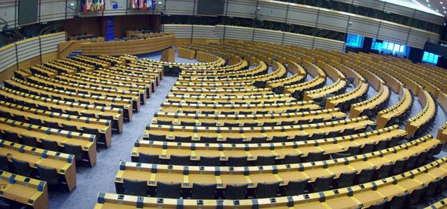 Imagen del Parlamento Europeo, en Bruselas.