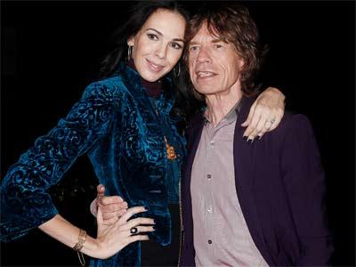 Scott y Jagger, en una imagen de 2012. REUTERS/Carlo Allegri
