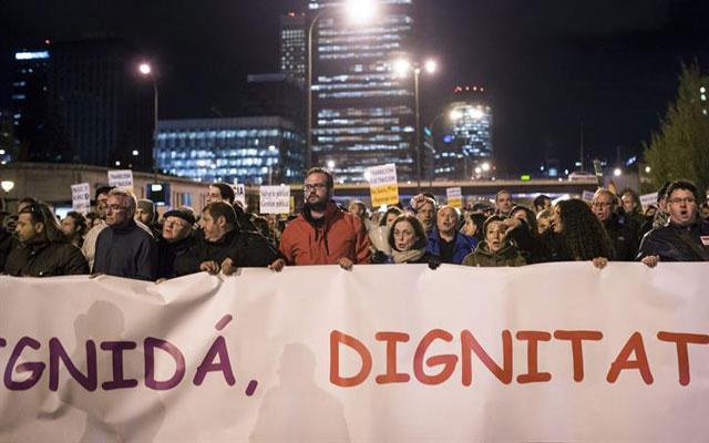 Manifestación del 23-M.