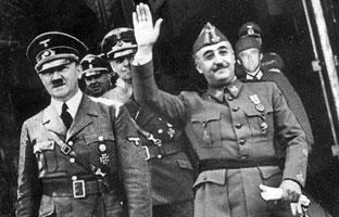 La España de Franco, vendida al fascismo