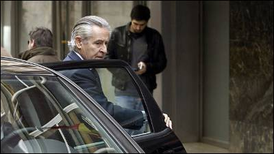 El expresidente de Caja Madrid, a su llegada a la Audiencia Nacional, para declarar sobre las preferentes de la entidad.