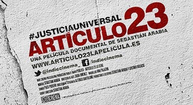 Detalle del cartel publicitario de la película.