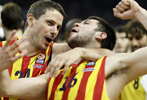 El Barça saca billete para <br>la Final Four de Milan