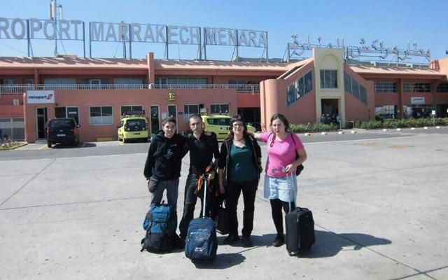 Los cuatro aragoneses: Diego Marín, Raúl Ramón, Irene Bailo y Laura Soteras.