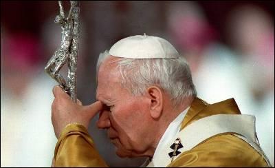 Juan Pablo II se encamina hacia la santidad.EFE