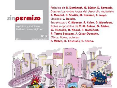 Portada del número 12 de la revista SinPermiso.