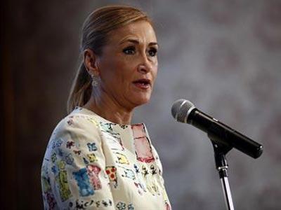 La delegada de Gobierno en Madrid, Cristina Cifuentes. Archivo -EP.