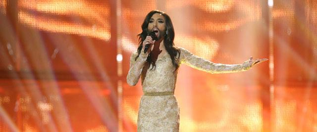La ganadora de Eurovisión, la austriaca Conchita Wurst.- EFE