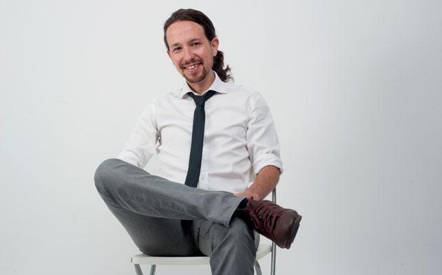 El cabeza de lista de Podemos, Pablo Iglesias.-
