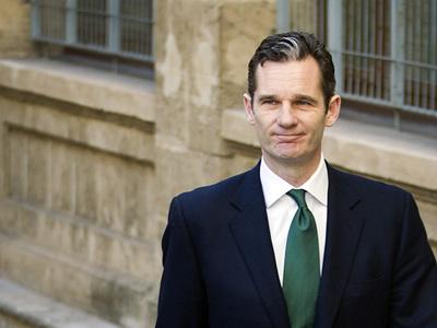 Iñaki Urdangarin a su salida del juzgado de Palma de Mallorca.