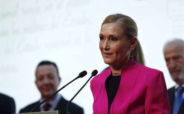 La delegada de Gobierno en Madrid, Cristina Cifuentes.
