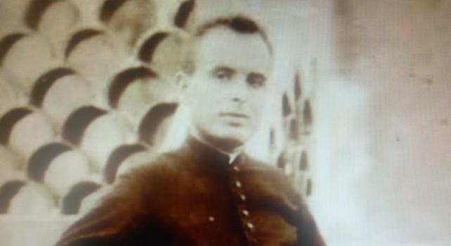 El cura republicano Francisco Fernández.