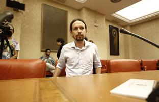 """Pablo Iglesias: """"Es terrible que la Eurocámara<br> financie planes ideados<br> para defraudar al fisco"""""""
