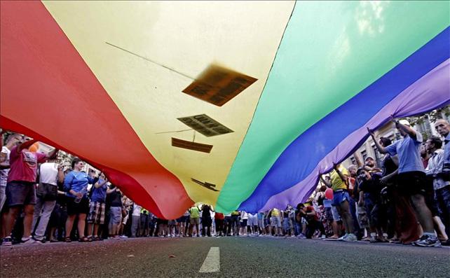 Imagen de una manifestación del Orgullo Gay en Barcelona el año pasado. EFE