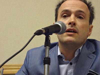 El abogado Máximo Castex. ANA DELICADO
