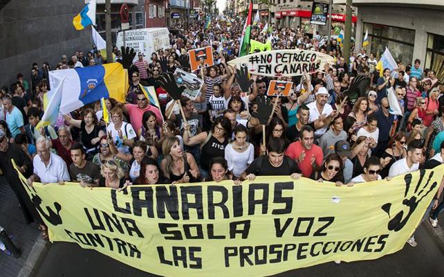 ALTERNATIVA SOCIALISTA ANTE LAS PROSPECCIONES DE CRUDO EN CANARIAS