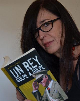 La escritora y periodista Rebeca Quintans.