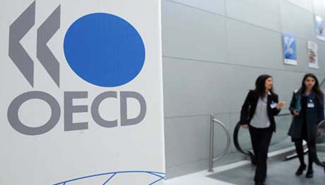 La OCDE, el club de los países ricos, prevé una desaceleración del crecimiento mundial.