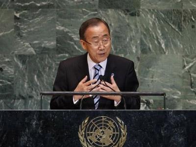 El secretario general de Naciones Unidas, Ban Ki Moon / EP