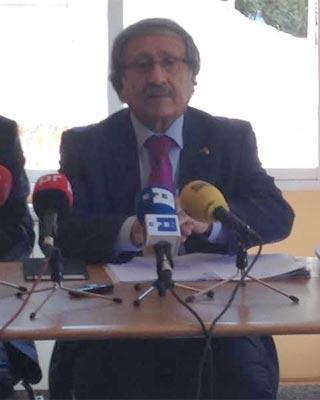 El embajador de la Autoridad Nacional Palestina en España, Musa Amer Odeh.
