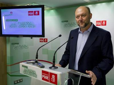 El secretario de Política Federal de la formación socialista, Antonio Pradas.