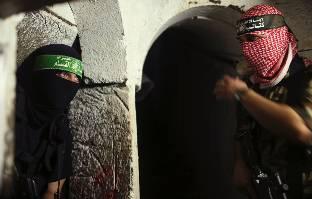 Los túneles de Gaza, en imágenes