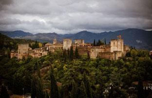 Dos detenidos por cultivar 'maría' junto a la Alhambra