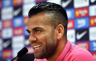 "Alves: ""No me he sentido respaldado por el club"""