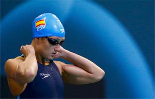 Mireia Belmonte logra la plata en los 800 libres