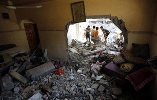 Nuevos bombardeos de Israel sobre Gaza dejan 38 muertos