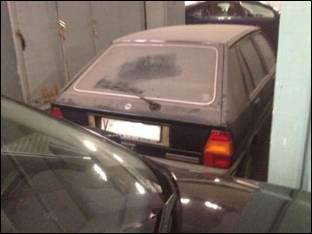 El coche de Barberá ha acumulado polvo durante 23 años en el garaje del Ayuntamiento de Valencia