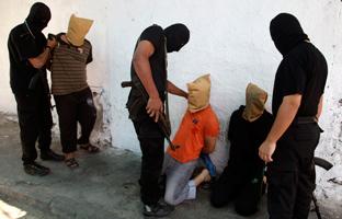 Hamás ejecuta a 18 palestinos acusados de colaborar con Israel