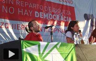 """Teresa Rodríguez: """"Ganar en el sentido electoral del término no es suficiente"""""""