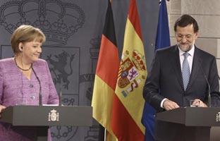 Paseo en solitario de 6 km de Merkel y Rajoy por el Camino de Santiago